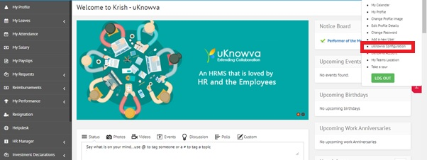 How to change color theme of uKnowva instance